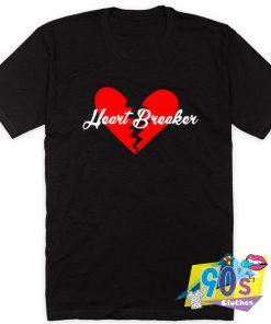 Broken Heart Breaker Graphic T Shirt