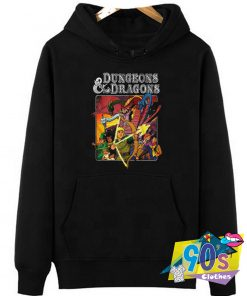 Characters Dungeons Dragons Hoodie