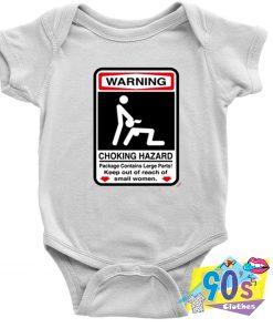 Choking Hazard Baby Onesie