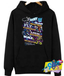 Decepticons Fathers Day Transformers Hoodie