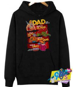 Father's Day He Man Superhero Movie Hoodie