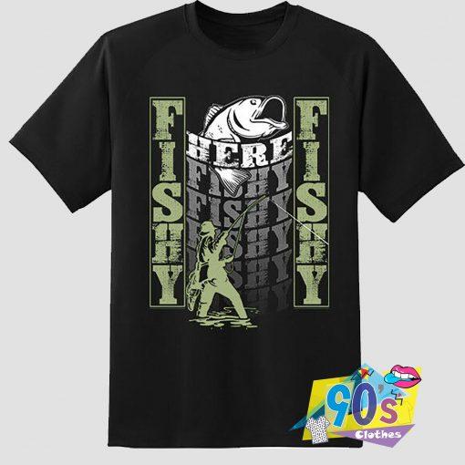 Fishy Fishing Outdoor Hobby T Shirt