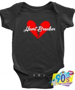 Heart Breaker Baby Onesie