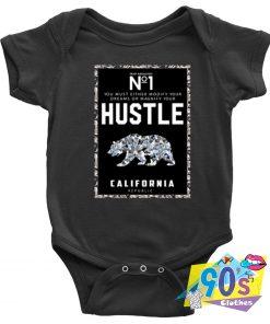 Hustle California Baby Onesie