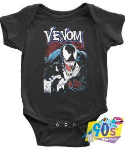 Marvel Spooky Venom Baby Onesie