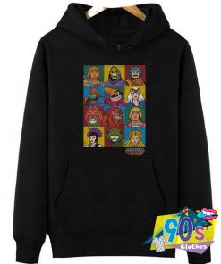 Masters Of The Universe Characters Hoodie