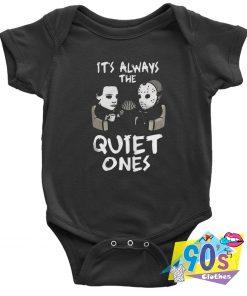 Michael Myers And Jason Voorhees Halloween Baby Onesie