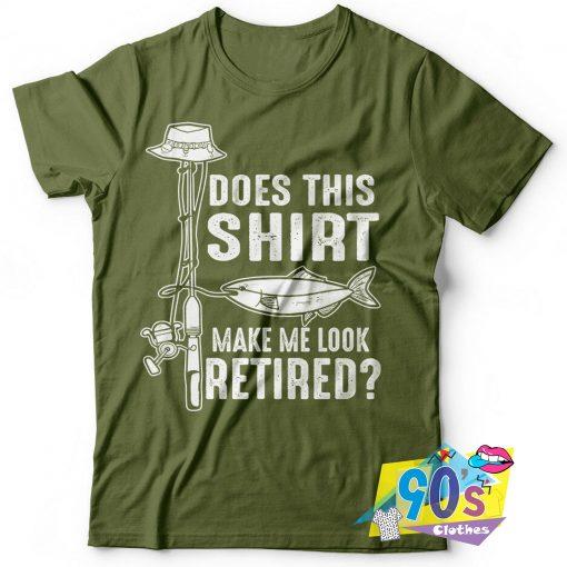 Retirement Fishing Hobby T Shirt