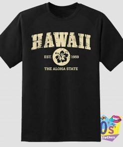 Retro Hawaii State T Shirt