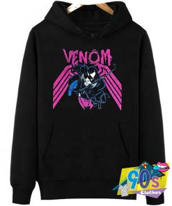 The Action Spider Man Venom Hoodie
