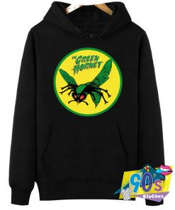 The Green Hornet Logo Graphic Hoodie