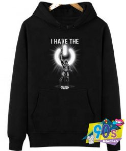The Power Button He Man Hoodie