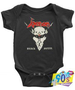 Venom Black Metal Baby Onesie