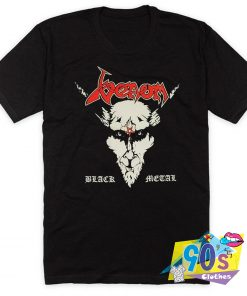 Venom Face Black Metal T Shirt