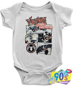 Venom Lethal Protector Baby Onesie