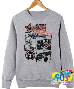 Venom Lethal Protector Meme Sweatshirt