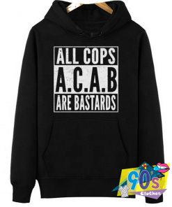 All Cops Are Bastard Quote Vintage Hoodie