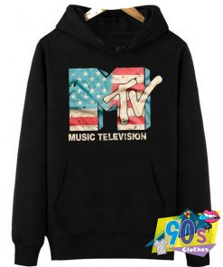 Best of Music Television USA FLAG Hoodie