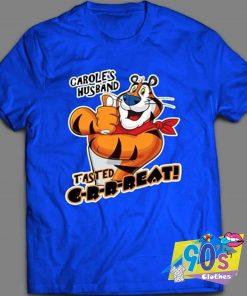 Carole Baskin Husband Tasted T Shirt