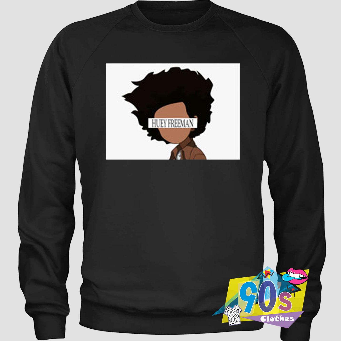 Faceless Huey Freeman The Boondocks Sweatshirt 90sclothes Com [ 1432 x 1432 Pixel ]