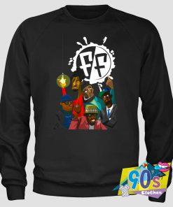 Freestyle Fellowship Hip Hop Cartoons Sweatshirt