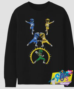 Funny Deadpool x Power Rangers Sweatshirt