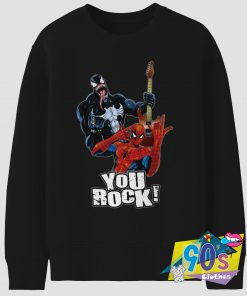 Funny Spider Man You Rock Vintage 90s Sweatshirt