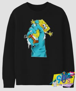 Funny SpongeBob SquarePants Nickelodeon Gripped Sweatshirt