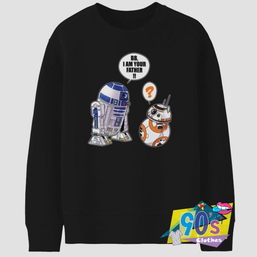 Funny Star Wars BB Saying Vintage Sweatshirt