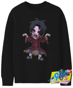 Itachi Naruto X The Walking Dead Sweatshirt