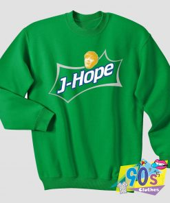 J Hope Soda Green 90s Vintage Sweatshirt