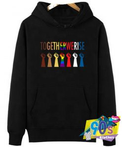 LGBT Strong Hand Graphic Hoodie