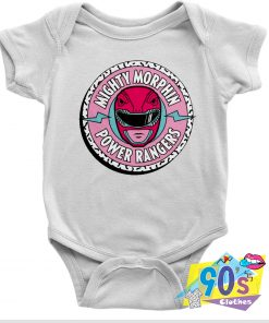 Morphin Power Rangers Action Film Baby Onesie