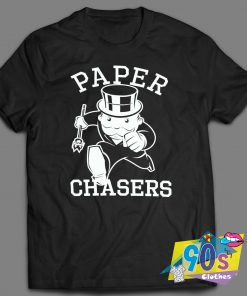 Paper Chasers Monopoly T Shirt