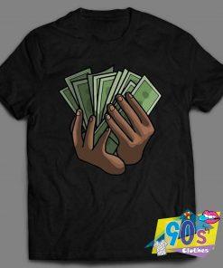 Pop Smoke Money Hands Rappers T Shirt