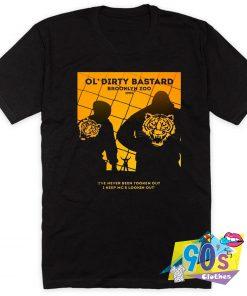 Rapper Ol Dirty Bastard Brooklyn Zoo T Shirt