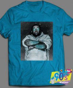 Rapper Rod Wave Hard Times Art T Shirt