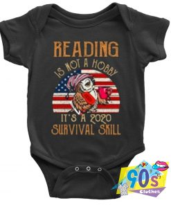 Reading Is Not A Hobby Baby Onesie