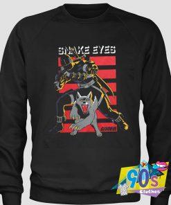 Snake Eyes And Timber GI Joe Film Series Sweatshirt