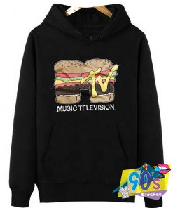 Special of Music Television Hamburger Hoodie