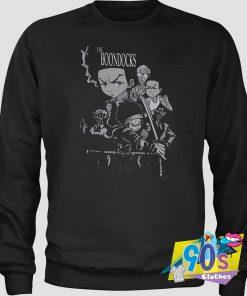The Boondocks Character Animation Sweatshirt