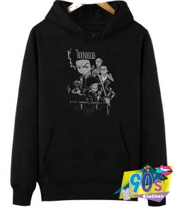 The Boondocks Character Cast Fighting Hoodie