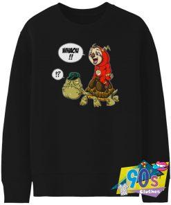 The Flash Parody The Turtle Sweatshirt