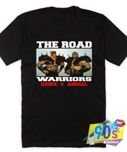 The Road Warriors 90s T Shirt Style