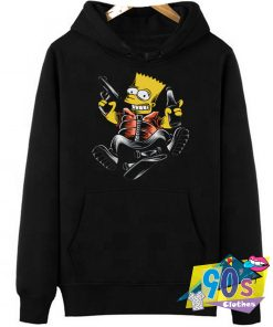 The Simpsons Hip Hop And Skateboard Hoodie