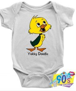 Yakky Doodle Funny Baby Onesie