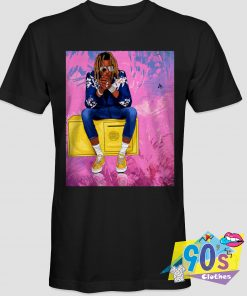 Young Thug Rapper Colorful 90s T Shirt Style