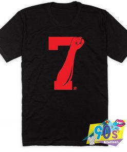 7 Fist Up Colin Kaepernick T Shirt