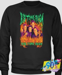 Big Time Rush Heavy Metal Sweatshirt