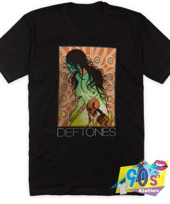Deftones Band Skull And Girl T Shirt